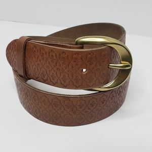 Lucky Brand leather belt womans size small